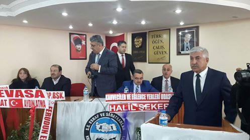 TARSUS ESNAF KEFALET KOOPERATİFİ KONGRESİ