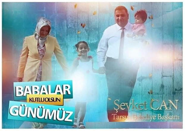 Can başkan, Babalar Günü'nü kutladı