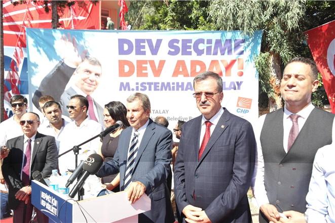 Mersin Büyükşehir Belediyesi için kolları sıvadı