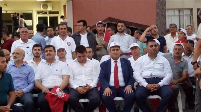 Tarsus'ta 15 Temmuz unutulmadı