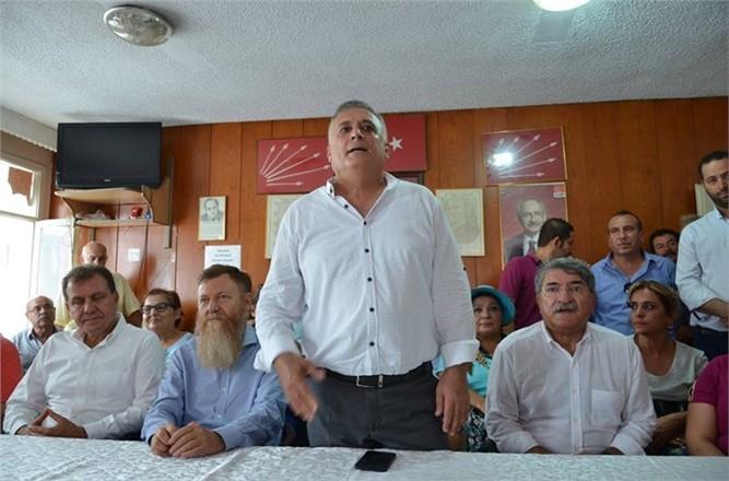 Tarsus CHP de bayramlaşma