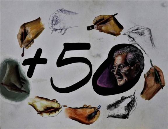 """Mehmet Karaçor'un """"50. SanatYılı Sergisi"""" Tarsus'ta da açılıyor"""