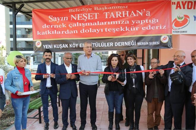 Mezitli Belediyesi Okuma Evi Açıldı
