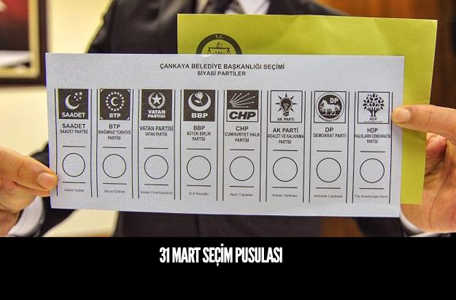 31 Mart'ta Kullanılacak Seçim Pusulası Tanıtıldı
