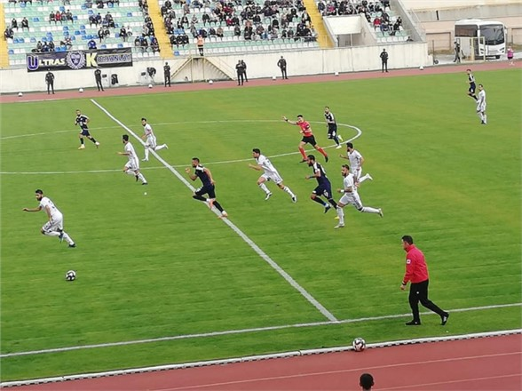 Tarsus İY 3-0 mağlup oldu