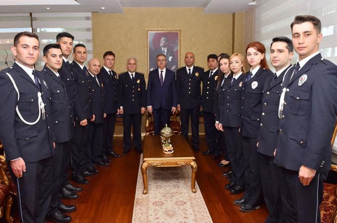 Türk Polis Teşkilatı'nın Kuruluşunun 174'üncü Yıldönümü Kutlanıyor