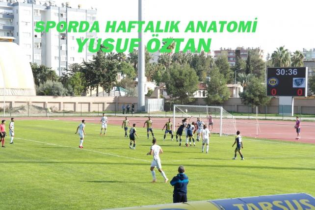 Tarsus idmanyurdu, ligde kalan son dört maçından üçünü kentimizde oynayacak