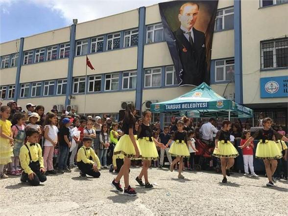 Hasan Karamehmet İlkokulu Çocuk Şenliği Düzenledi.
