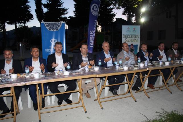 Tarsus Ticaret Borsası, Gülek Mahallesi'nde iftar verdi