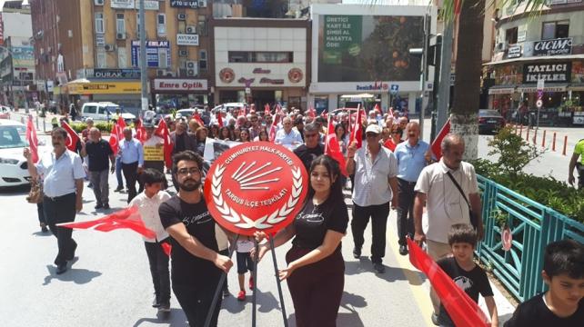 CHP Tarsus İlçe Örgütü,19 Mayıs'ı değişik kutladı