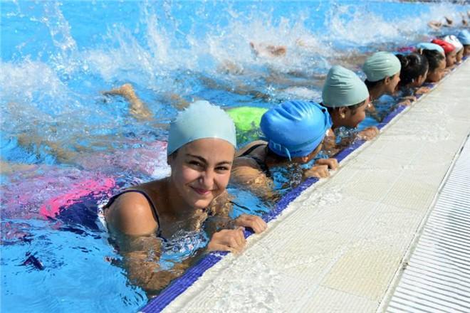 Büyükşehir 'Yüzme'ye Çağırıyor