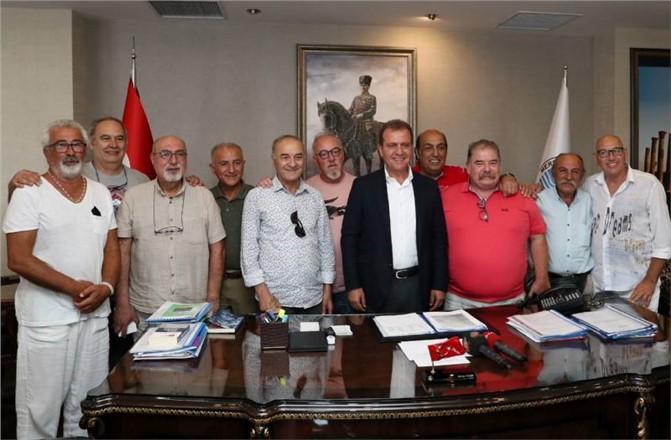 Hababam Sınıfı'nın Yaşayan Efsanelerinden, Başkan Seçer'e Ziyaret