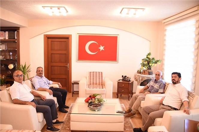 TARSUS BASINDER'DEN BAŞKAN BOZDOĞAN'A ZİYARET!