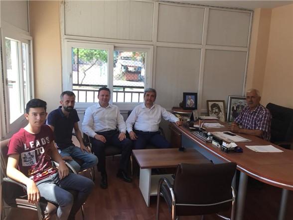 Ak Parti Mersin milletvekili Ali Cumhur Taşkın'dan ziyaretler