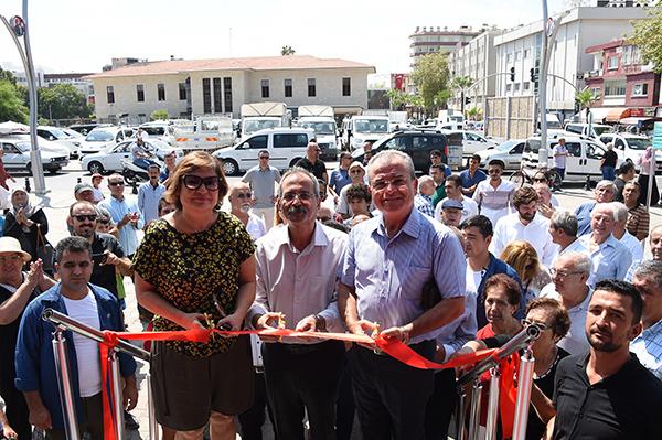 """Cumhuriyet Tırı"" Tarsus'a konuk oldu"