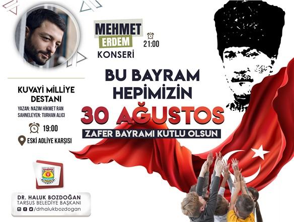 TARSUS BELEDİYESİ 30 AĞUSTOS ZAFER BAYRAMINA HAZIR!