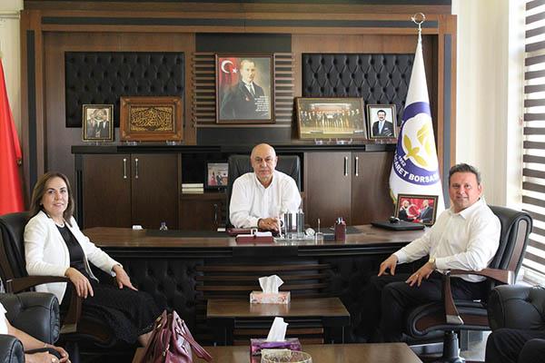 AK Parti Mersin Milletvekili Zeynep Gül Yılmaz Borsada