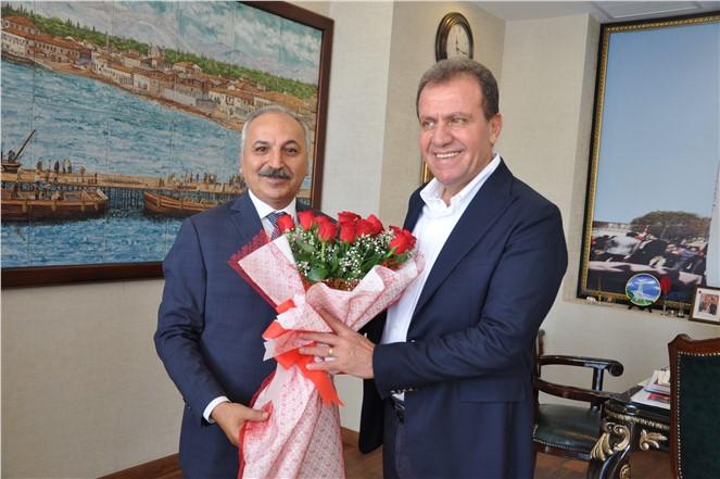 Başkan Dinçer'den kent protokolüne Ahilik Haftası ziyareti