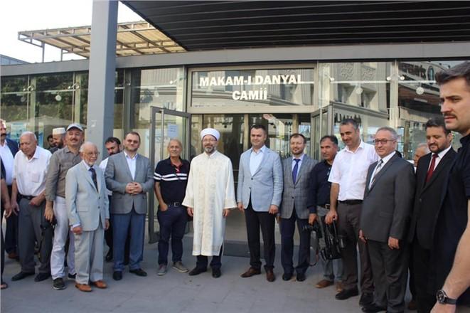 Diyanet İşleri Başkanı Ali Erbaş Tarsus'a geldi