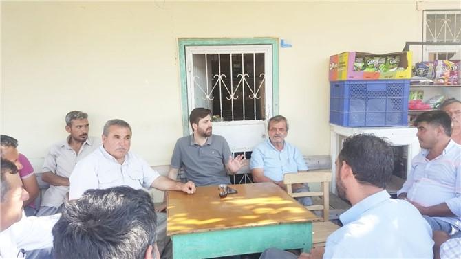 Ali Boltaç, program dahilinde Tarsus'a bağlı mahallelerde toplantı yaptı