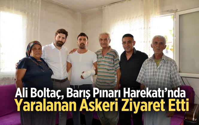 Barış Pınarı Harekatı'nda Yaralanan Askere, Büyükşehir'den Geçmiş Olsun Ziyareti
