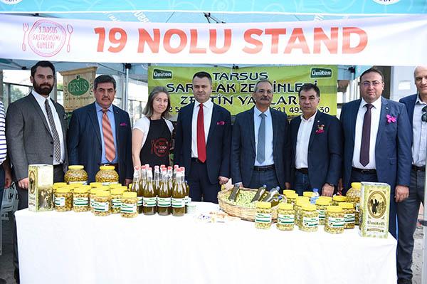 TARSUS GASTRONOMİ GÜNLERİ DÜN START ALDI