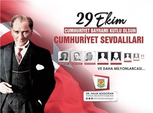 29 EKİM CUMHURİYET BAYRAMINIZ KUTLU OLSUN!