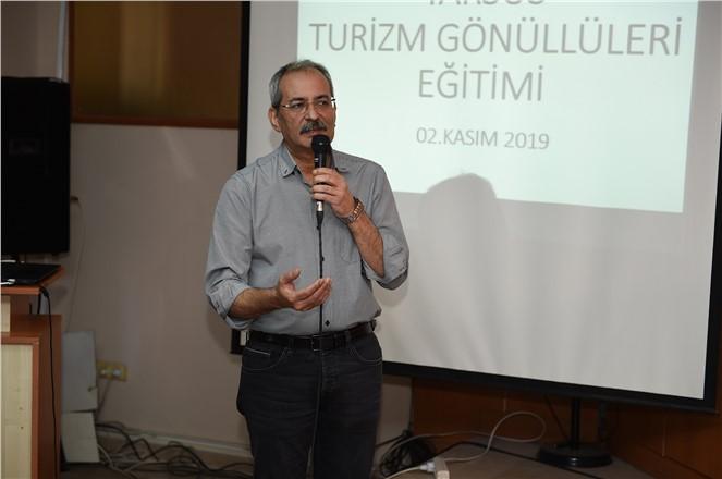"""KENT KONSEYİ'NDEN """"TURİZM GÖNÜLLÜLERİ"""" EĞİTİMİ"""