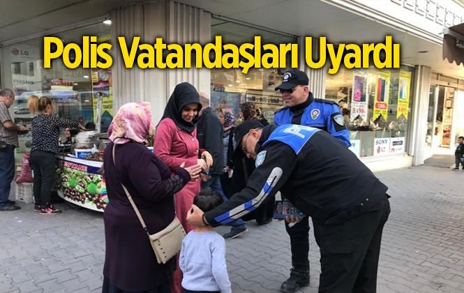 Polis Vatandaşları Dolandırıcılık Olaylarına Karşı Uyardı