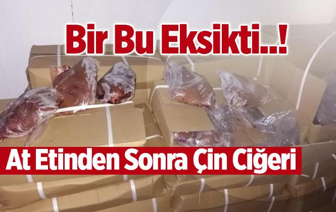 Mersin'e Çin'den Getirilen Kaçak 23 Ton Kuzu Ciğeri Yakalandı