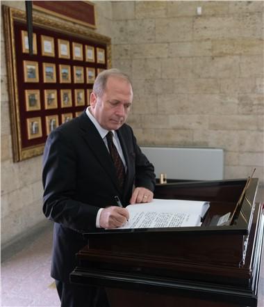 Ankara Tarsuslular Derneği (TADER) Genel Başkanı Semih Özsu 19 Mayıs Atatürk'ü Anma Gençlik ve Spor Bayramı'nı Kutladı!