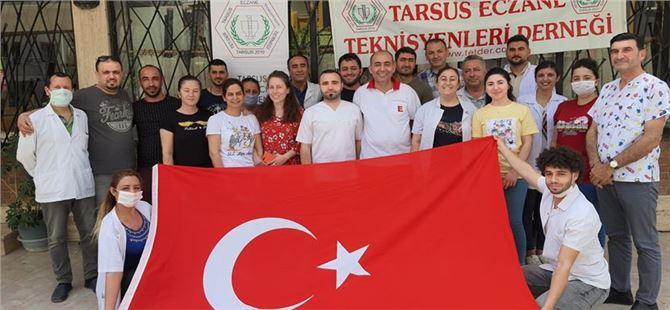 TARSUS ECZANE TEKNİSYENLERİ DERNEĞİNDEN19 MAYIS KUTLAMASI