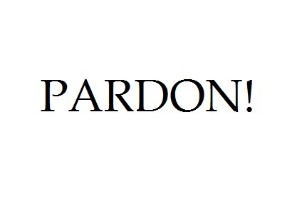 PARDON! KORONA