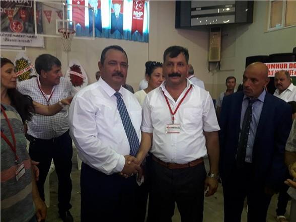 MHP Tarsus ilçe başkanlığında değişim
