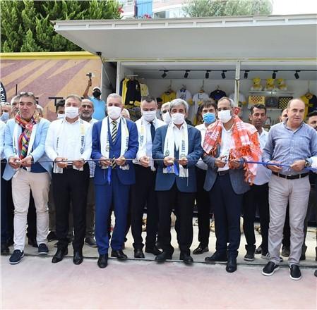 Tarsus İdman Yurdu'nun yenilenen tesislerinin açılışı yapıldı